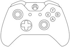 Xbox clipart cutie. One controller party video