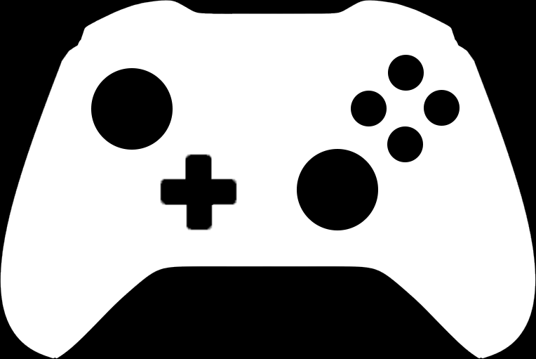 Xbox clipart different. Black and white one