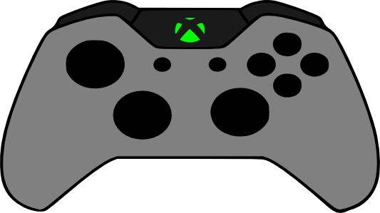 Xbox clipart joy stick. Crafting with meek one