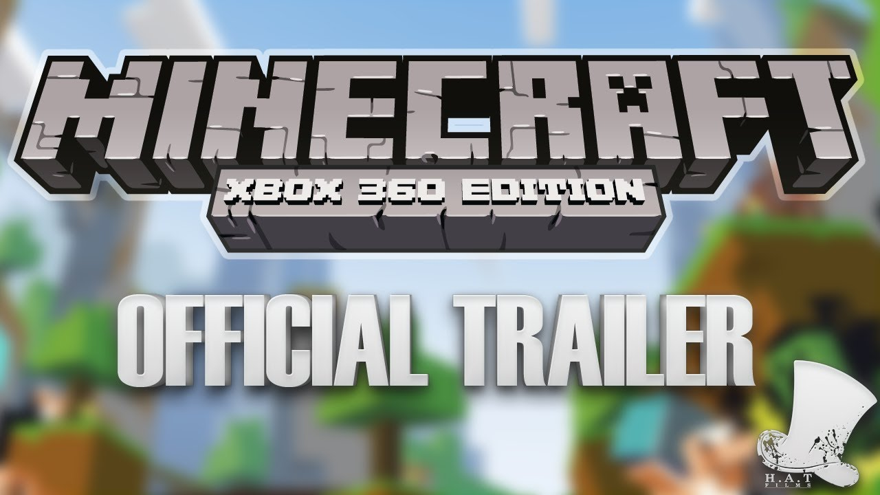 Xbox clipart minecraft. Official trailer for edition