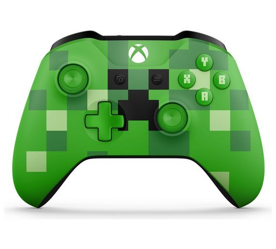 Xbox clipart minecraft. Buy one creeper controller