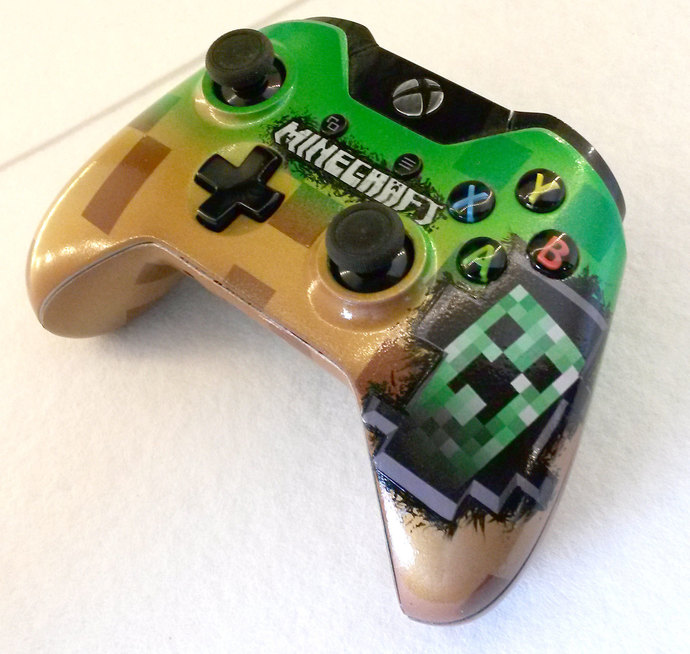 Xbox clipart minecraft. Theme one controller by