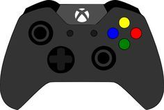 Xbox clipart svg. Controller pinterest birthdays and