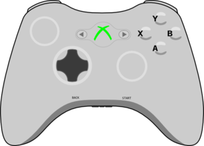 Xbox clipart xbox 360. Mdx controller windows forms