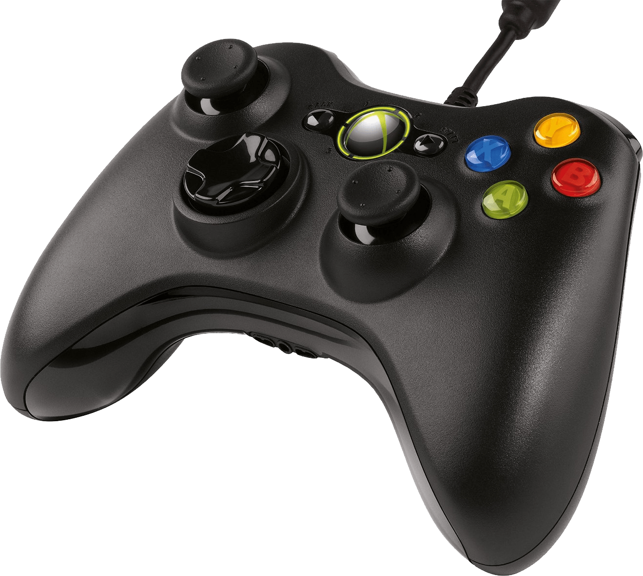Xbox controller png. Side view transparent stickpng