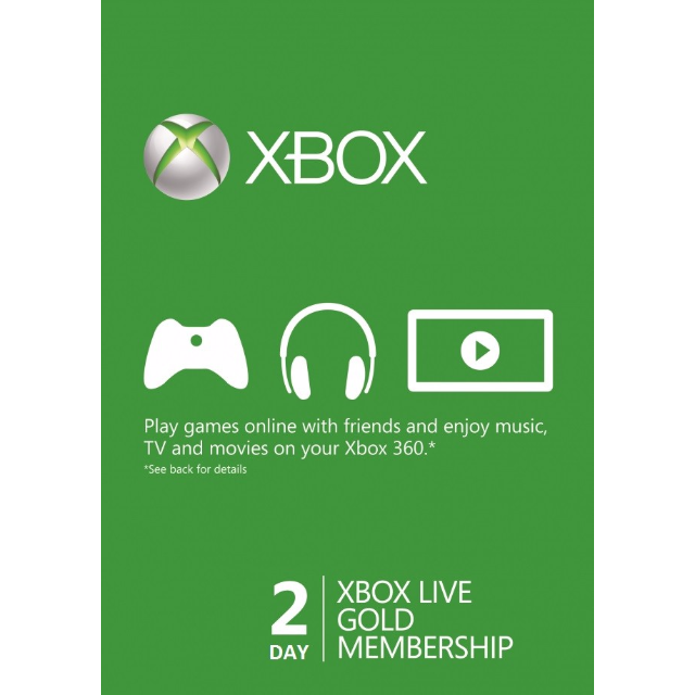 Xbox live png. Day gold trial