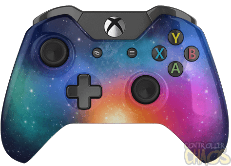 Xbox one controller png. Custom galaxy modded authentic