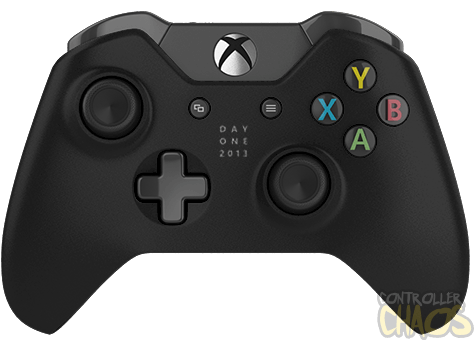 Xbox one controller png. Black day