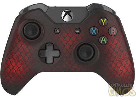 Xbox one controller png. Fire dragon