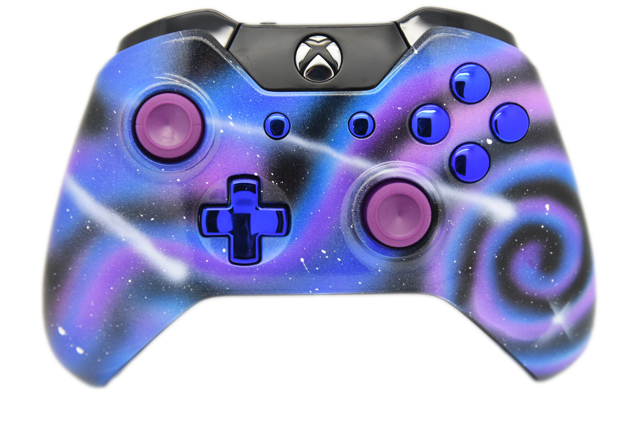 Xbox one controller png. Galaxy themed