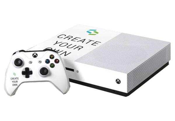 Xbox one s png. Custom console and controller
