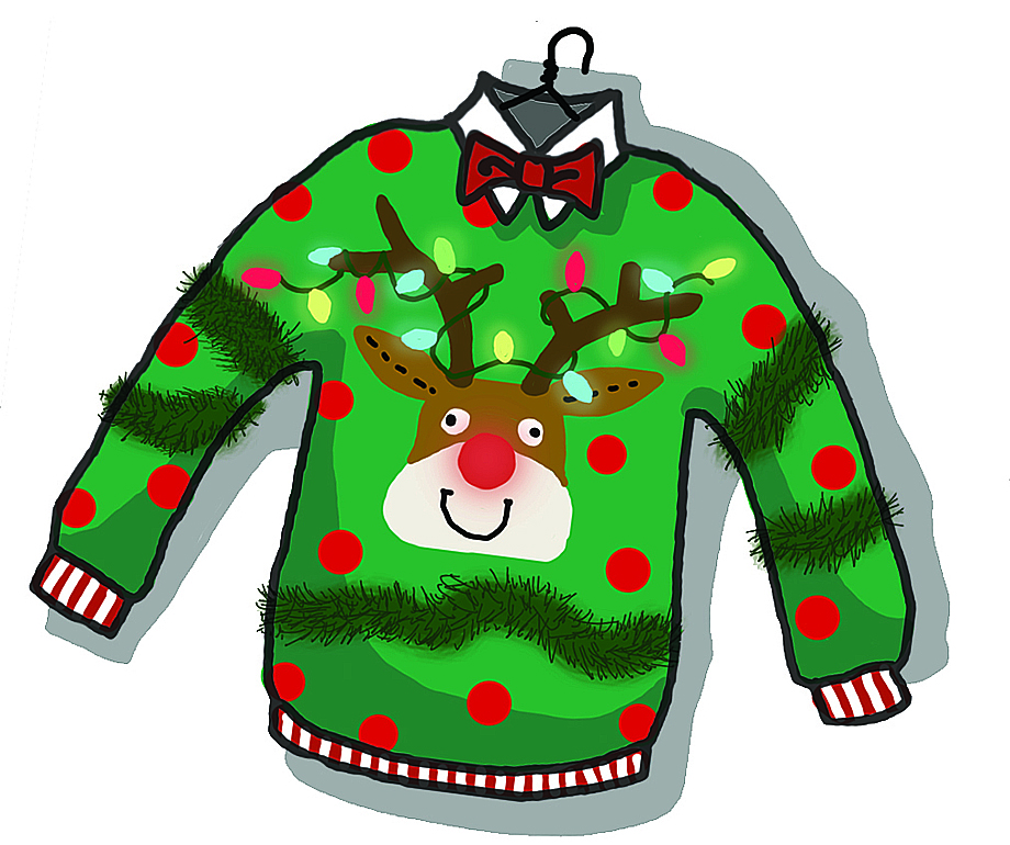 Xmas clipart jumper. Ofcs update november olmsted
