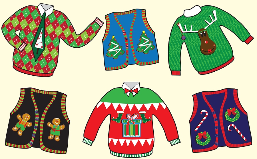 Xmas clipart jumper. Ugly christmas sweater party