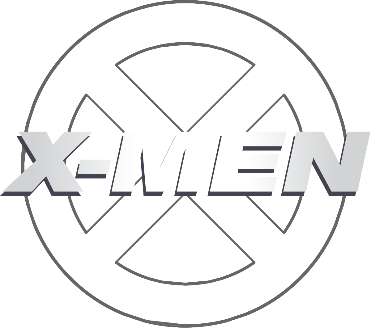 Xmen drawing black and white. X men days of