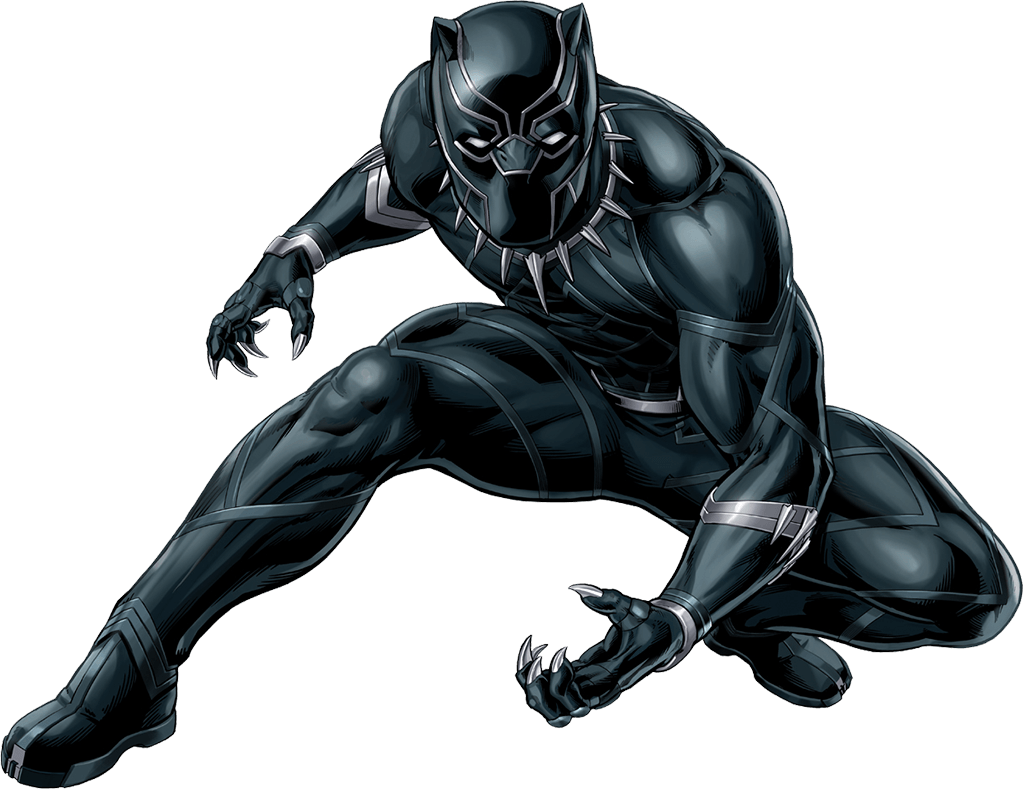 Xmen drawing black panther. Crea tu poster de