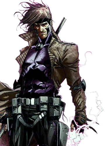 Xmen drawing gambit. Marvel xp dossiers m