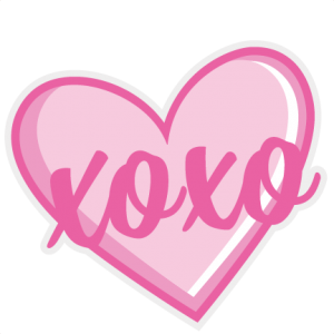 Free heart available for. Xoxo svg graphic library library