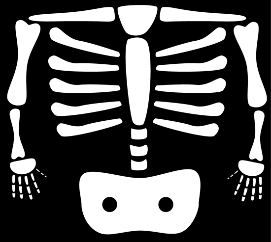 Xray clipart black and white. Xrays clip art image