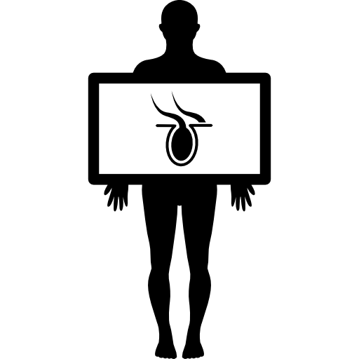 Xray clipart xray body. Male silhouette with organ