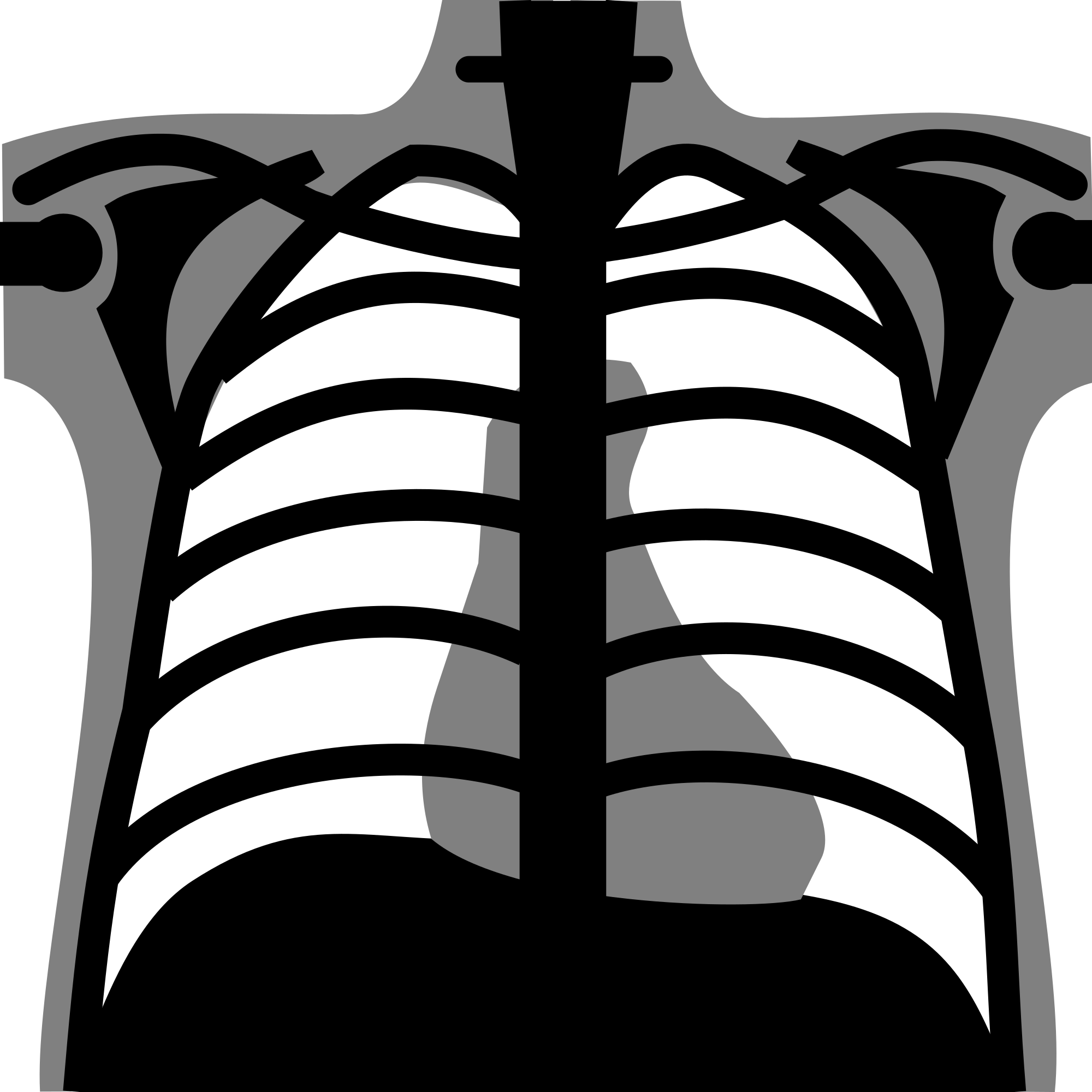 Xray drawing baby. Svg freeuse library