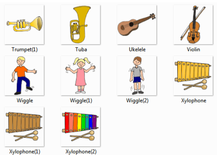 Xylophone clipart music equipment. Musical instruments names with