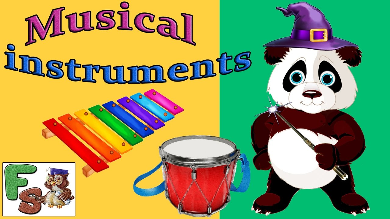 Xylophone clipart musical instrument. Panda instruments sounds piano
