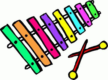 Xylophone clipart musical instrument. My free clip art