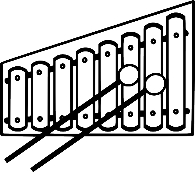 Xylophone drawing easy. Collection of high