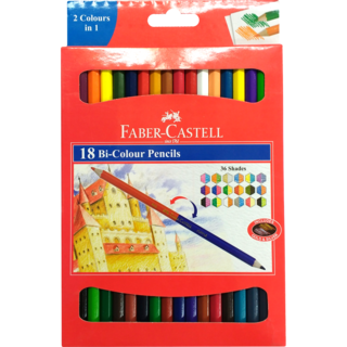 Xylophone drawing pencil. Faber castell bi colour