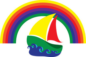Yacht clipart colorful boat. Free sailboat clip art