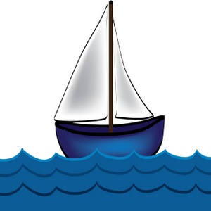 Yacht clipart little boat. Free sailboat clip art