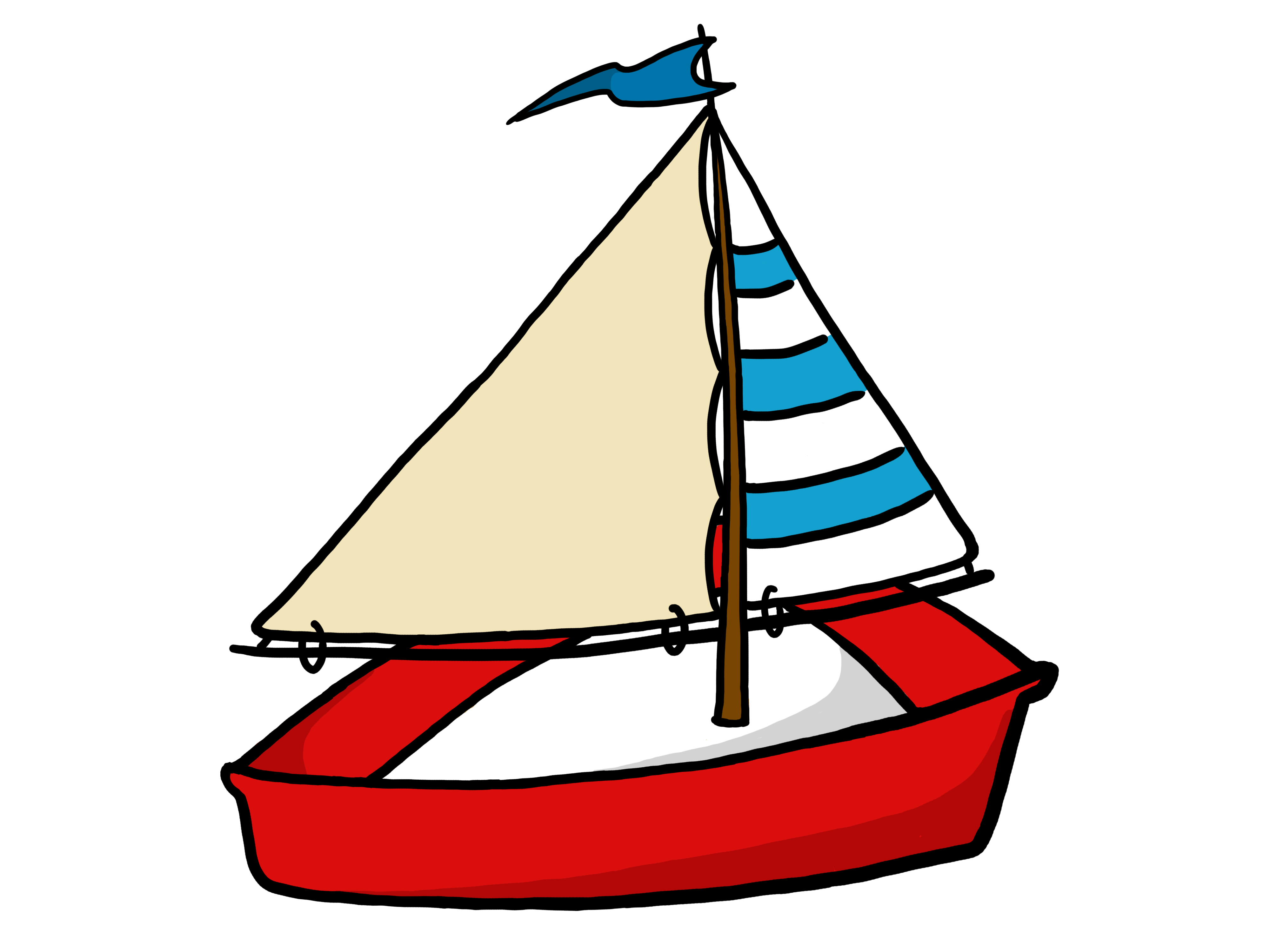 Yacht png cartoon. Svg free download