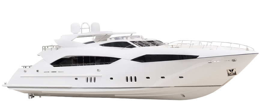 Transparent boats yacht. Boat insurance for all
