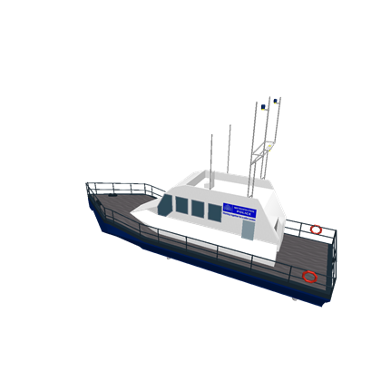 Transparent boats police. Met boat roblox