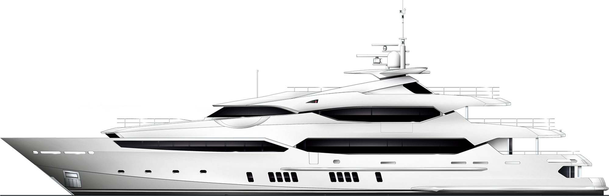 Yacht clipart yatch. Sunseeker effortlessly reaches the