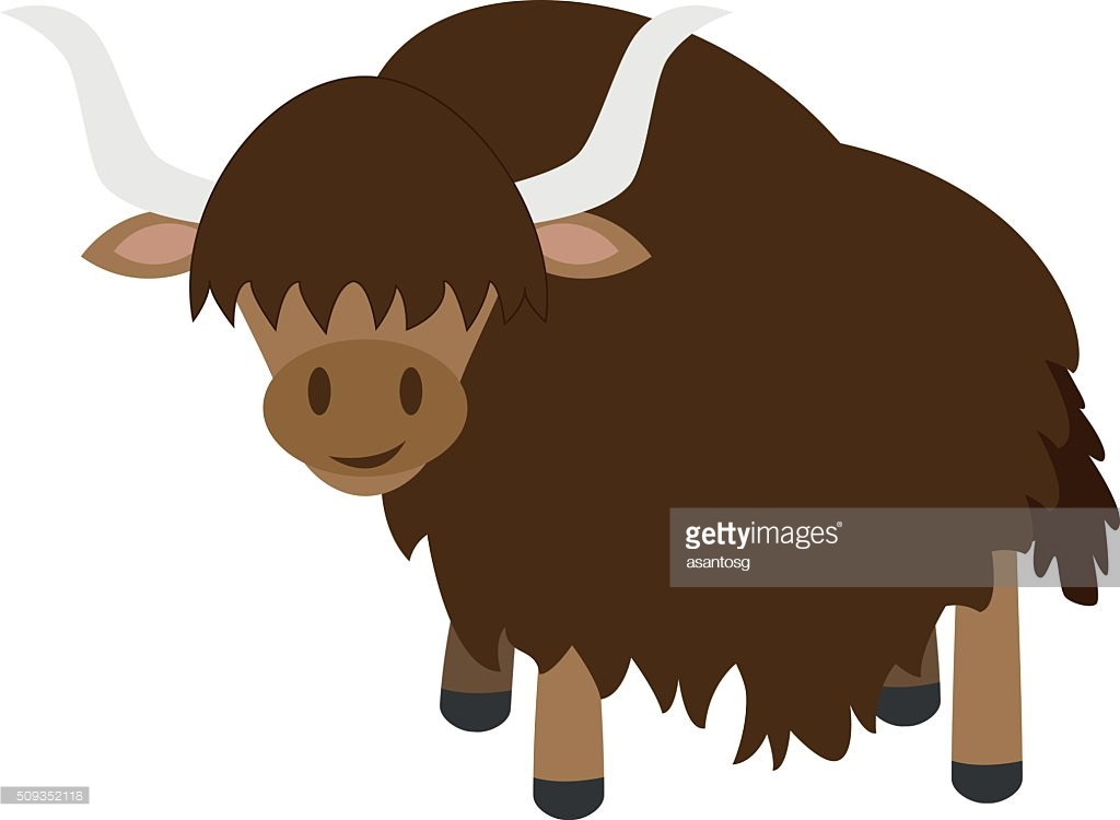 Yak clipart animated. Cute ox free pnglogocoloring