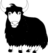Yak clipart black and white. Search results for clip