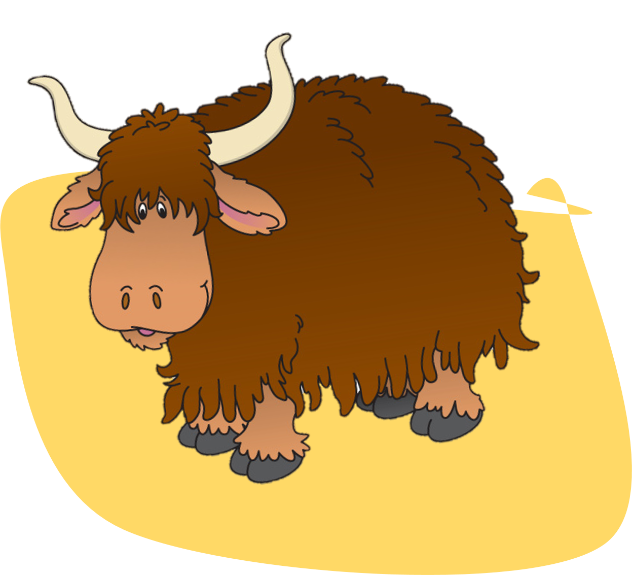 cattle vector yak