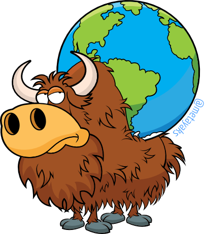 Yak clipart yack. Living with yaks cemerick
