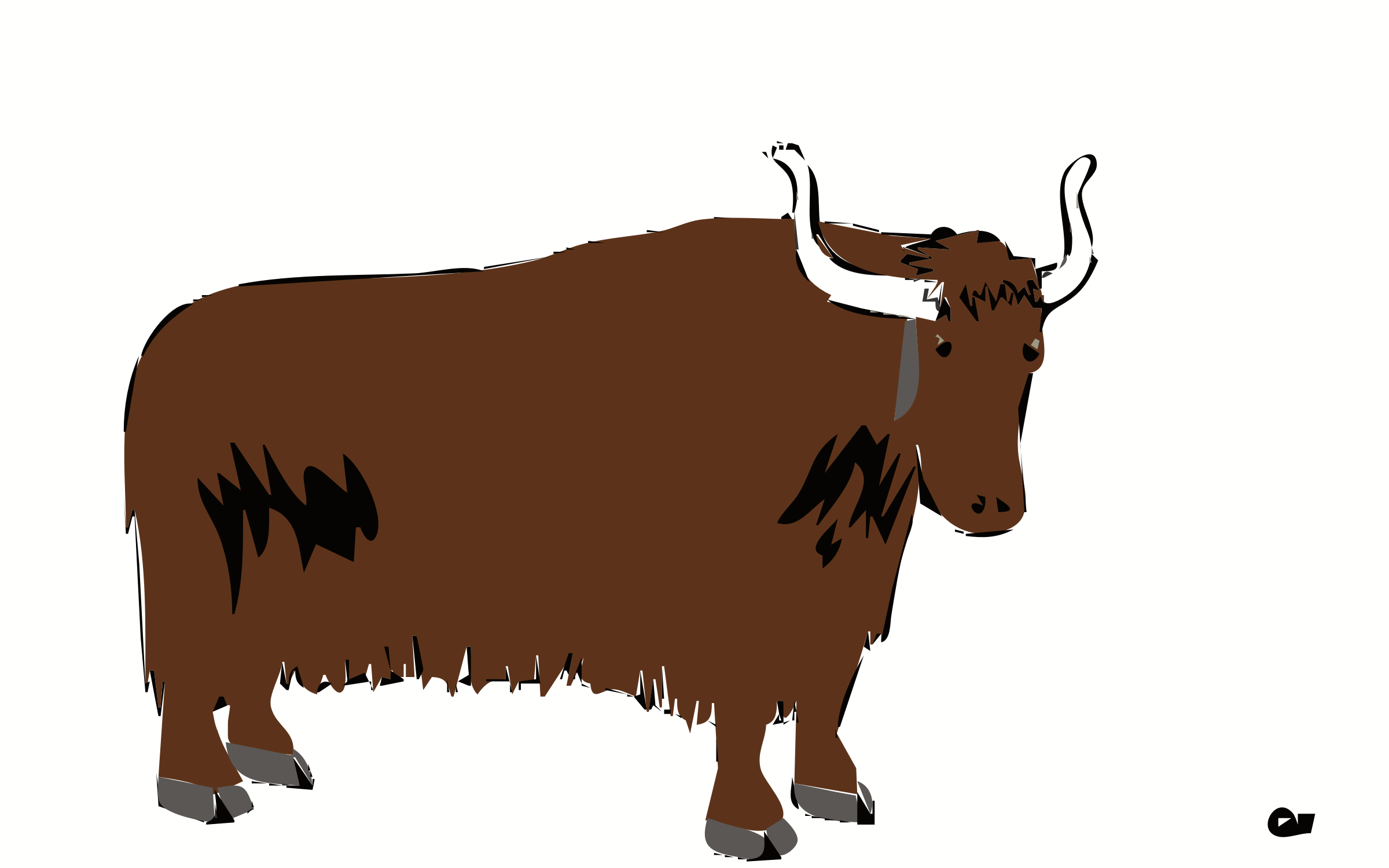 Yak clipart yack. Animal png transparent images