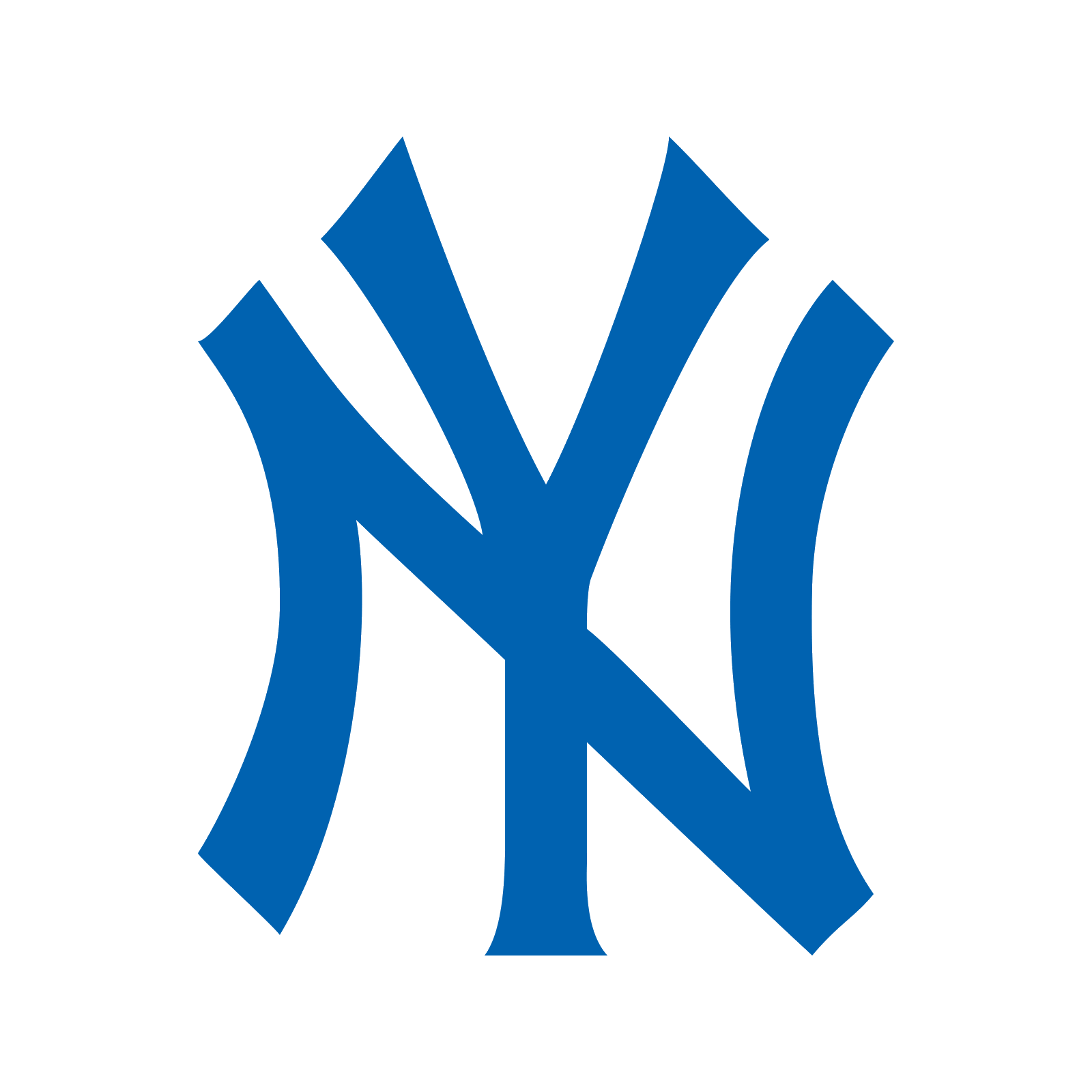 Yankees vector name. New york icon free
