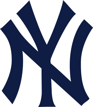 Yankees vector silhouette. Logo svg new york