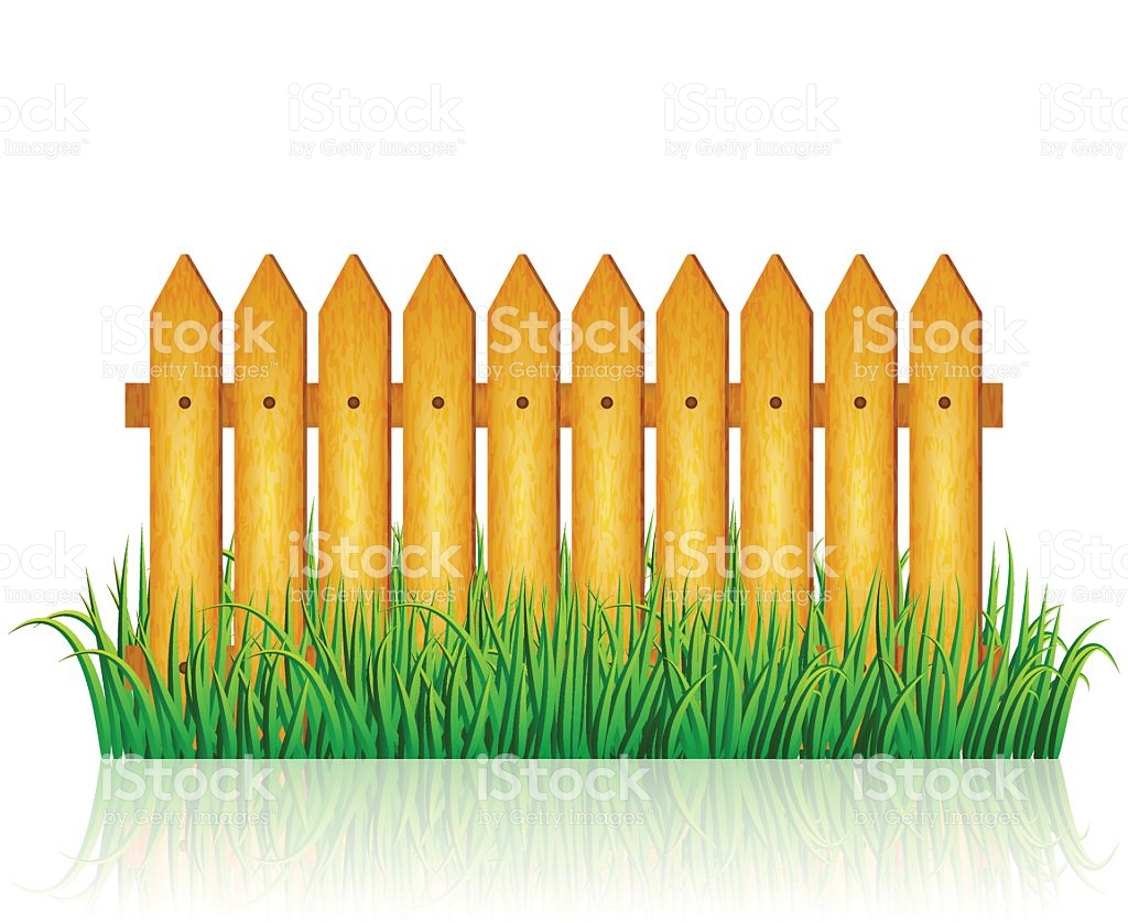 Yard clipart tall fence. Field fenced pencil and