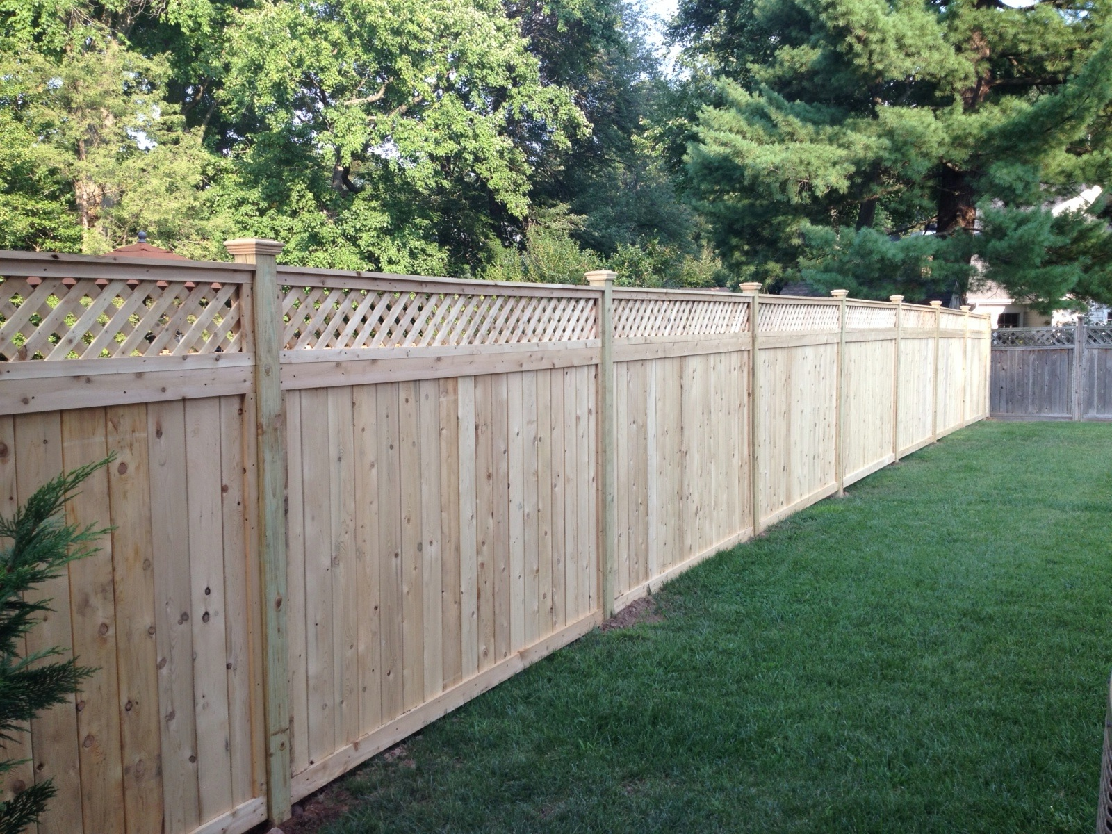 Yard clipart tall fence. Nj company located in