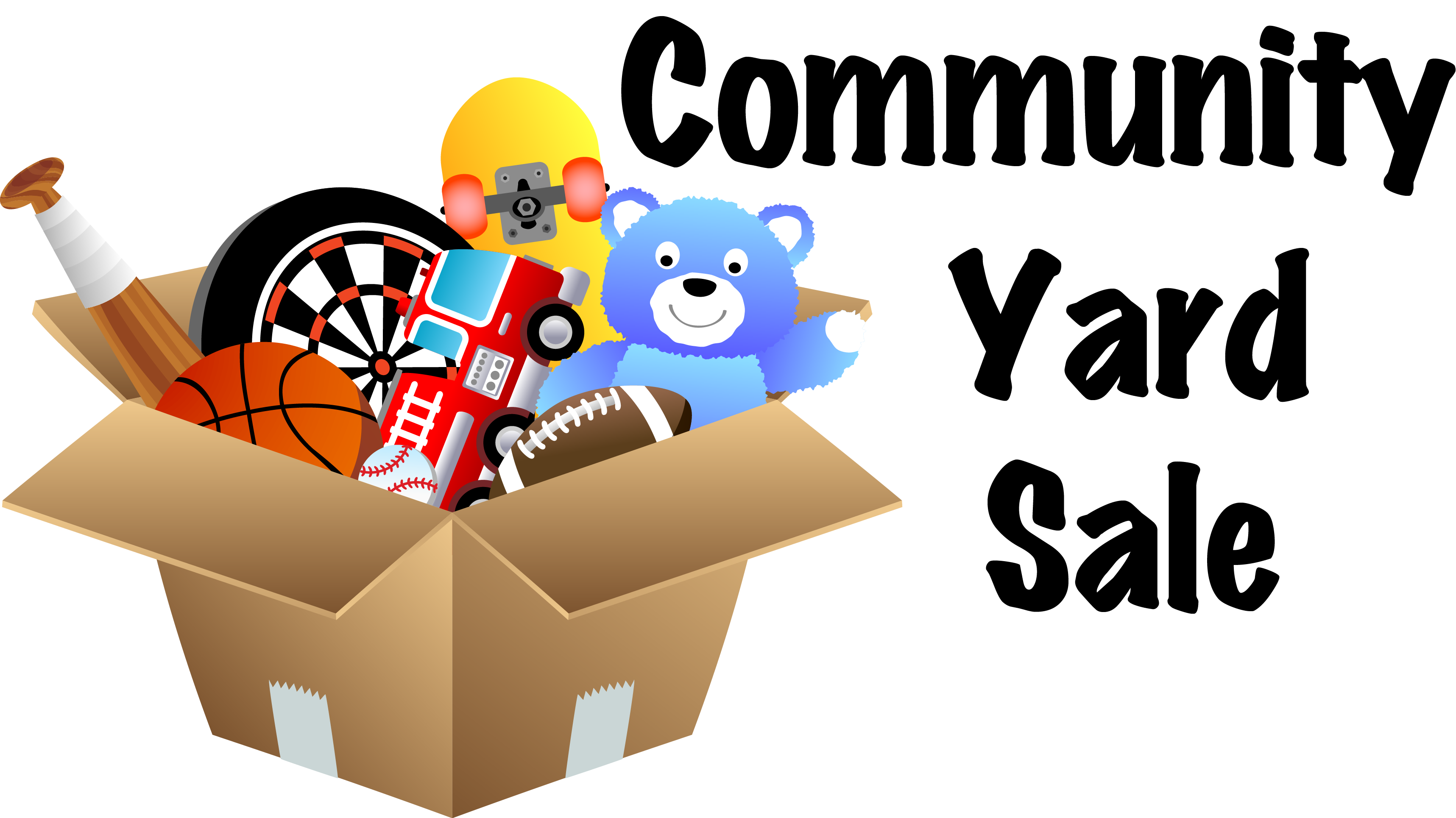 Yard clipart transparent. Community sale signs