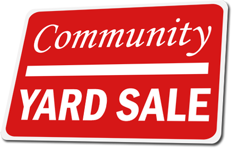 Yard sale sign png. How to plan a