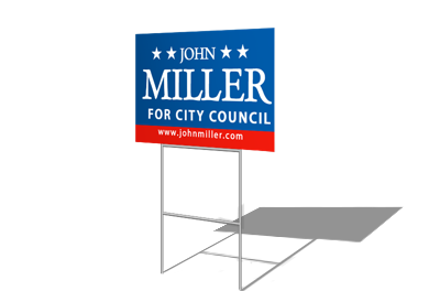 Yard sign png. Signs printing the difference