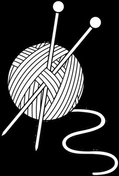 Yarn clipart craft. Premium knitting vectors clip