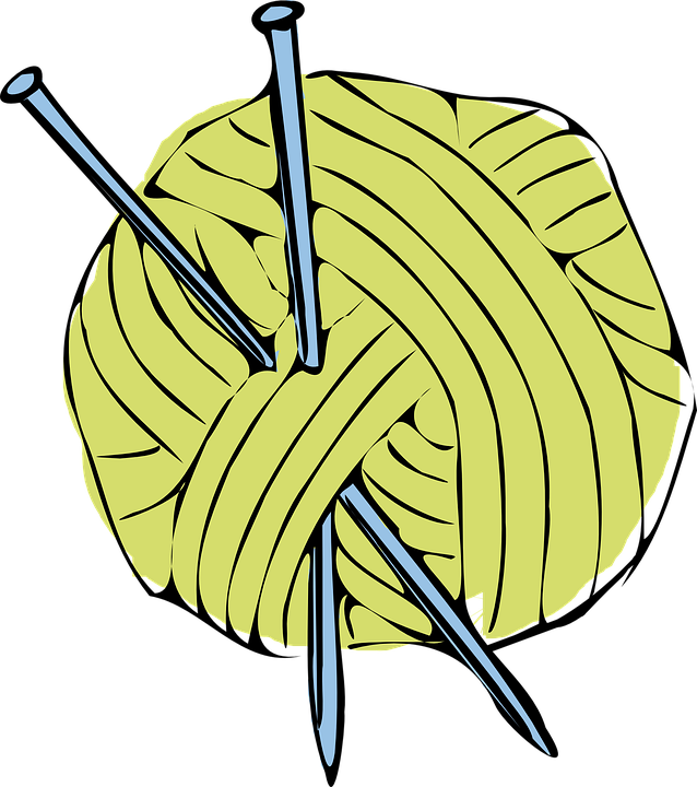 transparent yarn needle