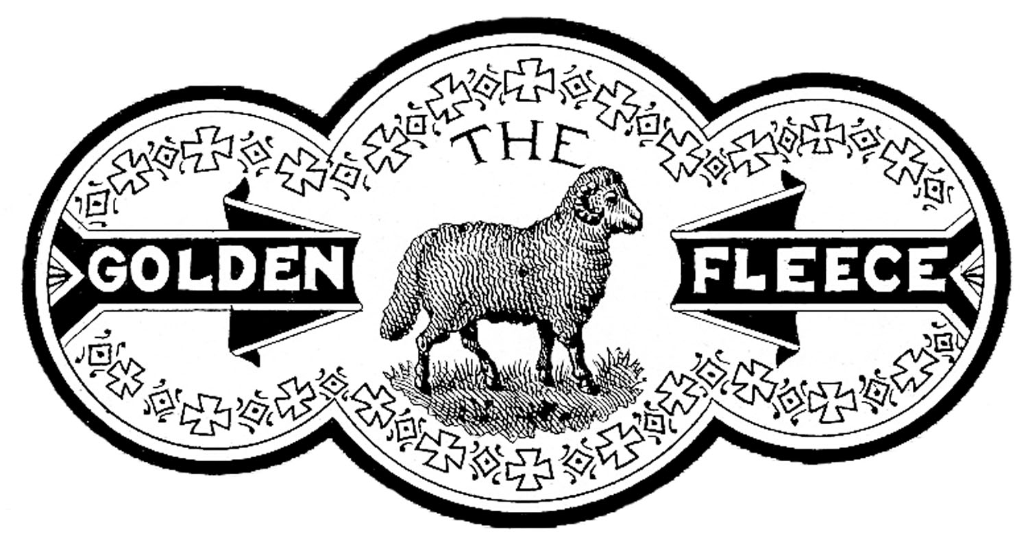 Yarn clipart sheep. Adorable vintage label the